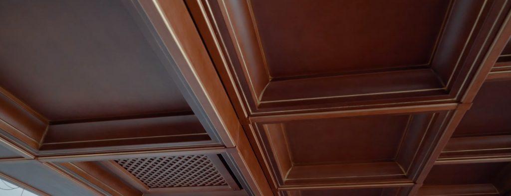 Кессонный потолок